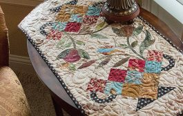 Candy Dish Table Runner Quilt Pattern by Edyta Sitar of Laundry B...