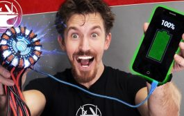 Real Arc Reactor (ionized plasma generator)...