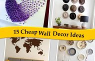 15 Cheap Wall Decor Ideas for Your Home Wall...