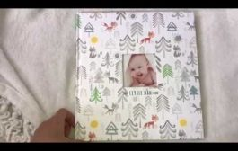 Baby Memory Book Flip-Through by C.R.Gibson...