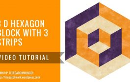 Video tutorial: 3D hexagons with 3 prints...