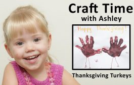 Turkey Art for Kids at Thanskgiving - Craft Time with Ashley...
