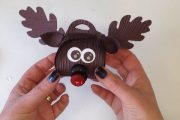 How to make Rudolph the Red Nose Reindeer using the Stampin' ...