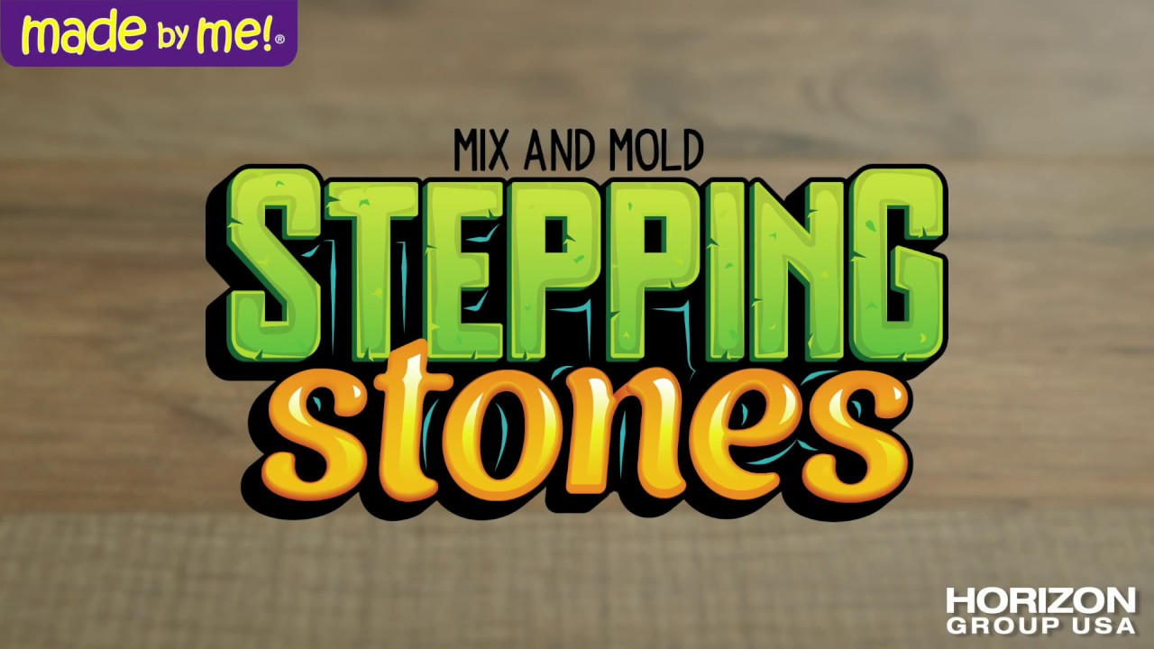 How to Make Made By Me Stepping Stones...