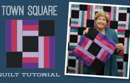 Make a Town Square Quilt with Jenny Doan of Missouri Star! (Video...