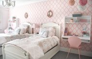 Shared Girls Room that Maximizes the Small Space...