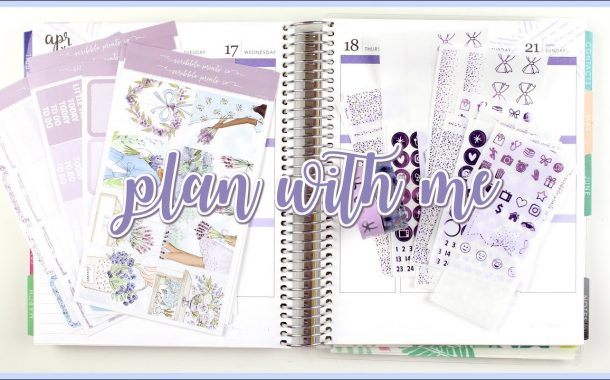 Plan With Me // Lavender feat. Scribble Prints Co....