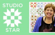 Make a Studio Star Quilt with Jenny Doan of Missouri Star! (Video...