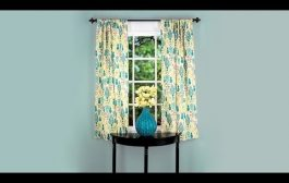 Learn to Sew: Simple Curtain Panel...
