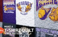T-shirt quilting step-by-step (with free pattern) | Craftsy Quilt...