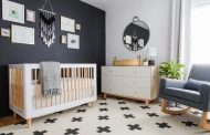 A Black & White Scandinavian Nursery Reveal...