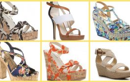 women's wedge sandal, casual wear wedge sandals with floral p...