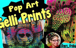 Pop Art Gelli Prints...