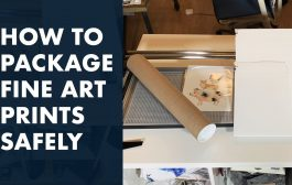 How to Package and Ship Fine Art Prints Cheaply and Safely for On...