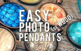 Make Glass Photo Pendants - EASY How-To Cabochon Necklace...