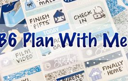 B6 Plan With Me / Feat Scribble Prints Co...