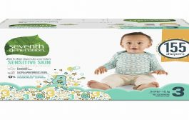 Seventh Generation Baby Diapers for Sensitive Skin Animal Prints ...