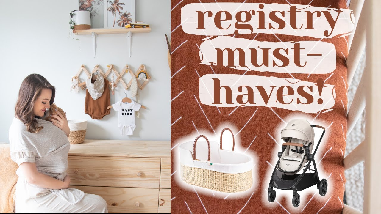 WHAT'S ON MY BABY REGISTRY as a first time mom...