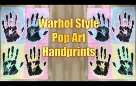 Elementary Art Project - Andy Warhol Hands...