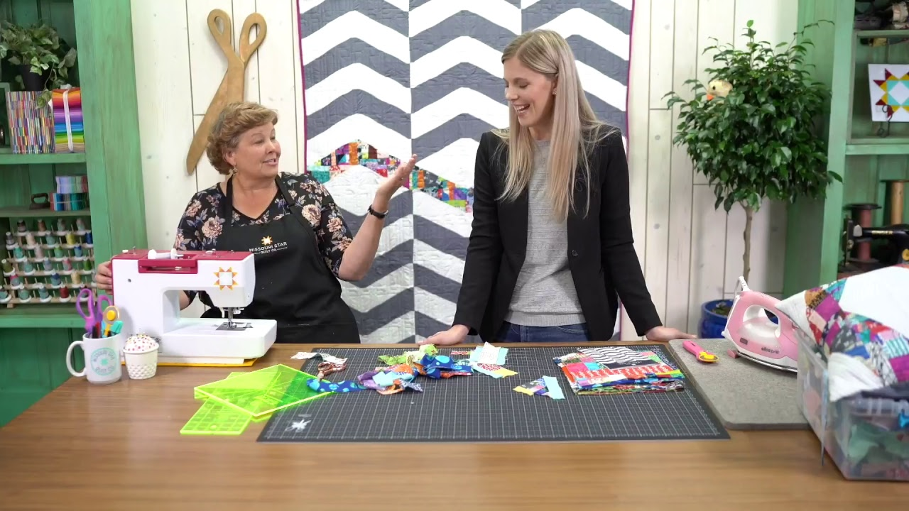 REPLAY:  Crumb Quilting with Jenny...