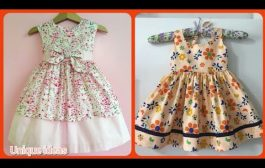 latest styles of designer's baby girl's cotton prints fro...