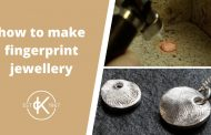 How To Make A Fingerprint Pendant With Silver Clay | Kernowcraft...