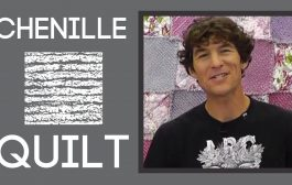 Chenille Quilting: An Easy Quilt Tutorial with Rob Appell of Man ...