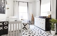 A Black and White Nursery Reveal...