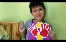 Hand and foot print card...