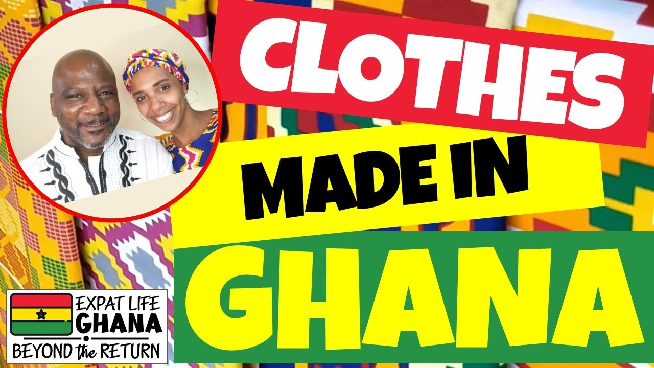 Clothes Made in Ghana (African Clothes Using African Fabric) How ...